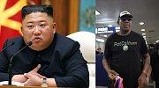 Kim Čong-un, Dennis Rodman