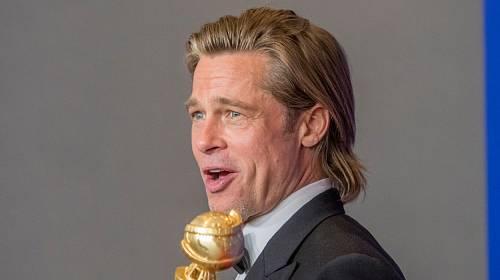 Brad Pitt jako vítěz.