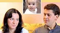 Verunka a její biologičtí rodiče Libor Broža a Jaroslava Trojanová