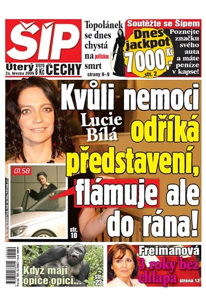 Titulka 24. 3. 2009