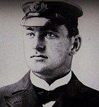 Henry Tingle Wilde, člen posádky. Byla to jeho první plavba na moři.