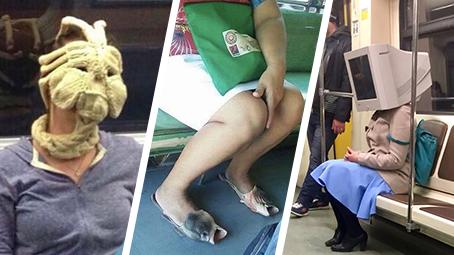 Jaké zvláštnosti potkáváte v metru vy?
