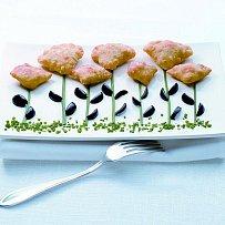Masové kapsičky s olivami