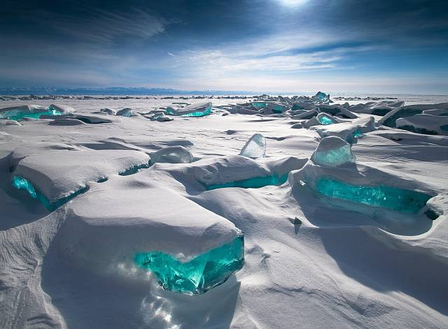 Ledové poklady, Rusko