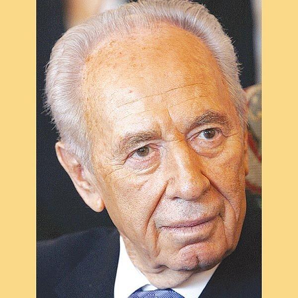 Izraelský prezident Šimon Peres