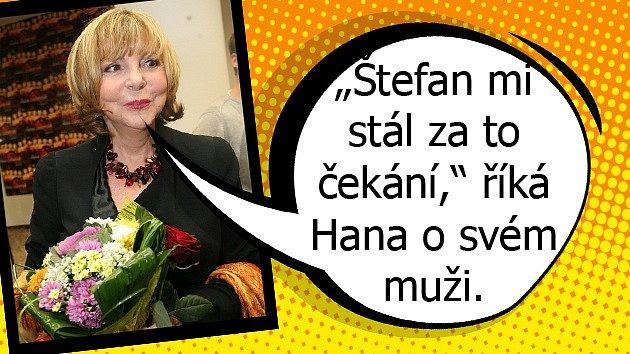 Příběh lásky Hany Zagorové a Štefana Margity je opravdu úchvatný..
