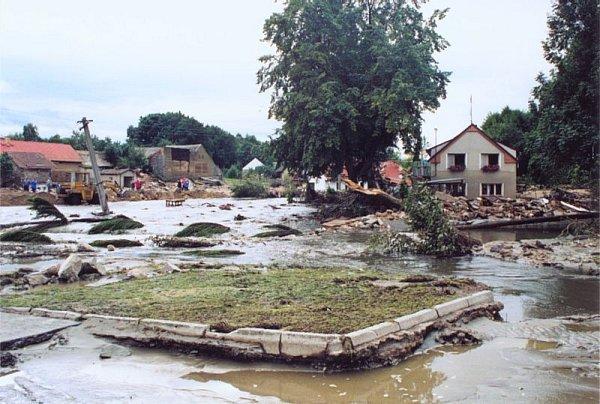Metelská apokalypsa, když opadla voda.