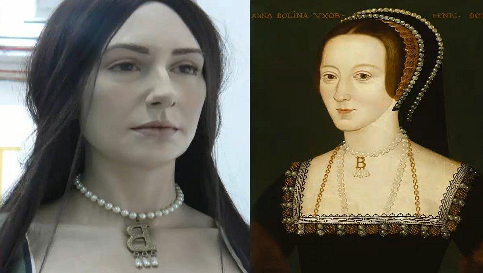 Takto vypadala Anna Boleyn.