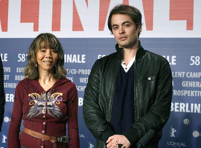 Syn Nikolai smatkou Minhoi naberlínském filmovém festivalu vroce 2008.