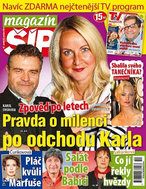 Titulní strana Magazínu Šíp 23.12.2013