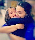 Iva Kubelková miluje svoje holčičky.