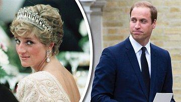 William stále těžce nese tragickou smrt své matky.