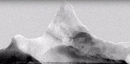 Ledovec, který zničil Titanic.