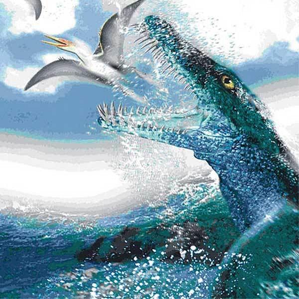 Pliosaurovy zuby byly ostré jako sekery a byly schopné překousnout i malé auto.