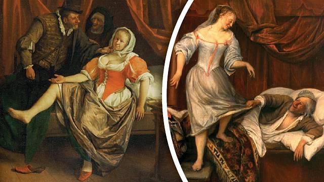 Ve středověkých veřejných domech to chodilo trochu jinak než dnes.