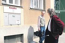 Babybox v brněnské nemocnici Milosrdných bratří.