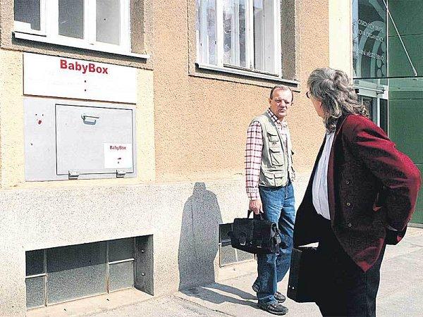 Babybox vbrněnské nemocnici Milosrdných bratří.