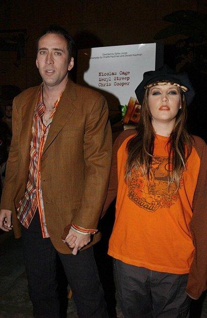 Lisa-Marie Presley a Nicolas Cage