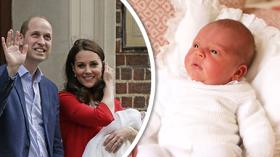 Princ Louis William Kate Middleton