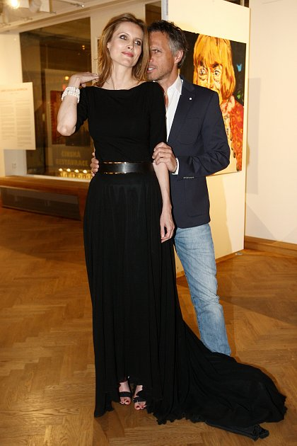 Janek Ledecký a slovenská herečka Silvia Šuladová se ksobě měli.