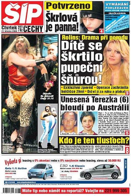 Titulka 27. 3. 2008