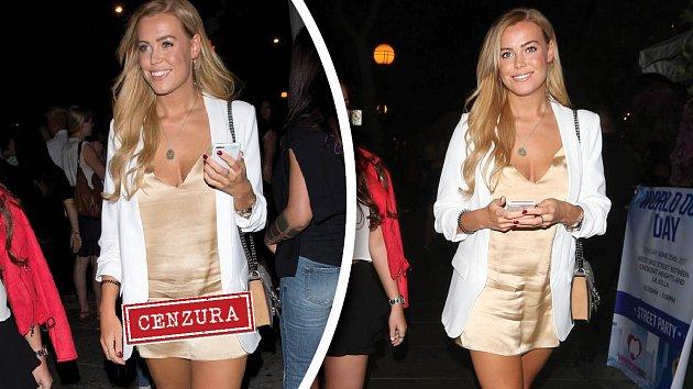 Chloe Meadows si asi výběr outfitu nakonec vyčítala.