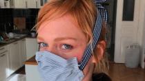 Koronavirus, rouška, ester geislerová