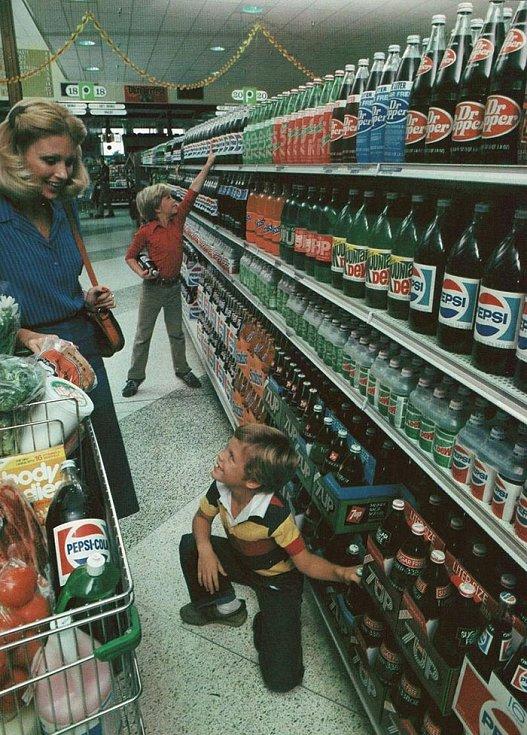 V té době nebyla každý obal z plastu. Svět byl mnohem čistším místem.
