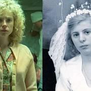 Jessie Buckley jako Lyudmila Ignatenko, manželka Vasilyho