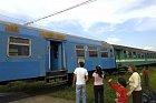 I tak staré vlaky jezdí po zapadlých vesnicích.