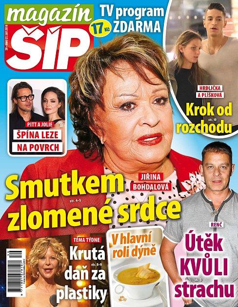 Titulní strana Magazínu Šíp 27.9.2016