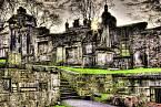 Atmosféra Greyfriars Kirkyard je neopakovatelná. Bylo by spíš spodivem, kdyby tu nic nestrašilo.