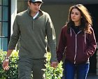 Ashton a Mila Kunis, jeho nynější manželka