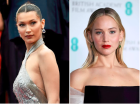 Gigi Hadid (modelka) a Jennifer Lawrence (Hunger Games)