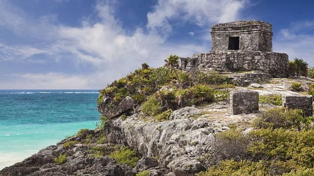 Ruiny mayského města napobřeží Tulumu představují světový unikát.