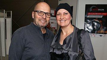 Zdeněk Pohlreich s manželkou Zdenkou