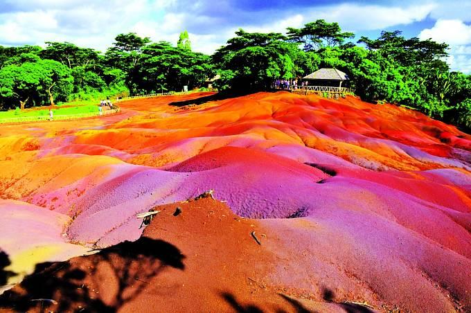 Dechberoucí místo má rozlohu zhruba 7500 metrů čtverečních.