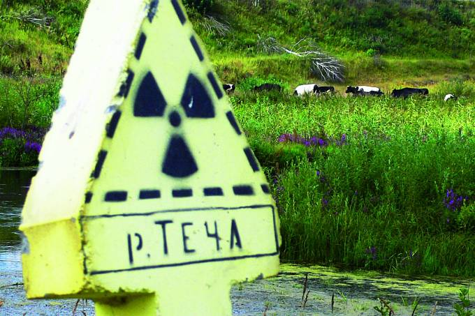 Kolem řeky Teči jsou dodnes výstražné cedule.