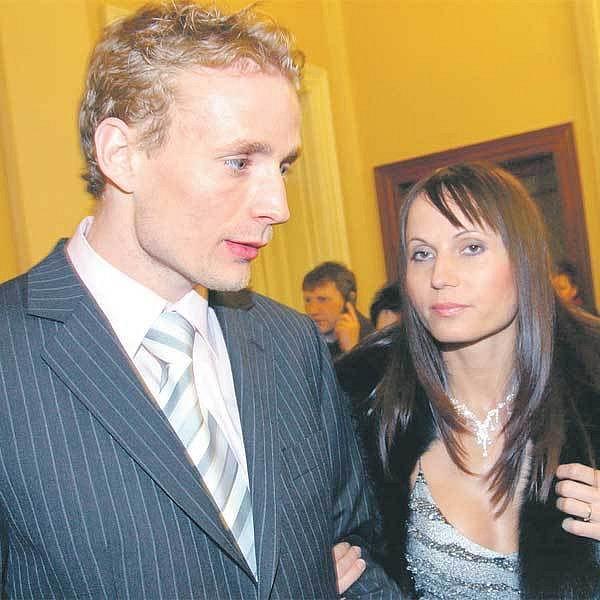 Jarošík s Kubáčkovou v době, kdy ještě bylo všechno v pořádku.
