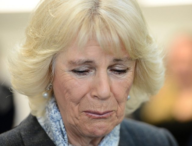 Smutná Camilla trpěla kvůli domácímu násilí.