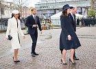 """Zatímco Markle a Harry využili Instagram: ,,Krásné výročí Jejich královské Výsosti královně Alžbětě a vévodovi z Cambridge! V tento den před 72 lety byly sezdáni na Westminsterském opatství. Blahopřejeme!"""""""
