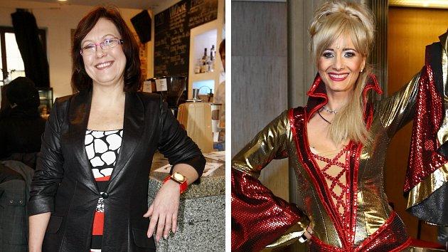 Kateřina Cajthamlová a Daniela Šinkorová