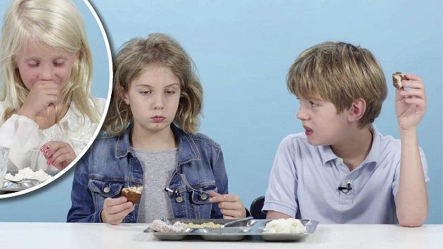 Děti ukázaly, že nejvíc milují jídlo, které znají.