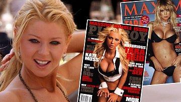 Sexbomba Tara Reid si v minulosti podmanila titulky pánských časopisů.