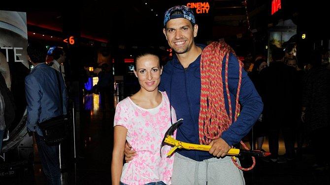 Petr Vojnar a jeho bývalá přítelkyně Andrea.