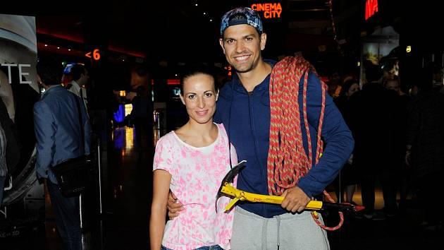 Petr Vojnar a jeho bývalá přítelkyně Andrea