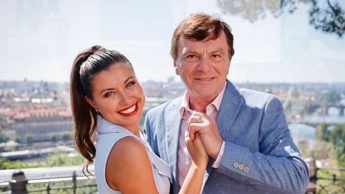Pavel Trávníček a Veronika Lálová