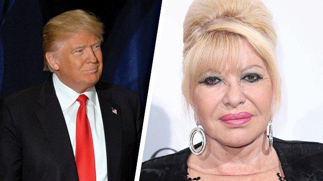 Donald Trump a exmanželka Ivana