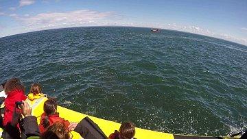 Na moři může pohoda skončit nečekaně rychle.