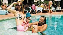 Dokud měl Gott dostatek energie, jezdil s rodinou na luxusní dovolené!